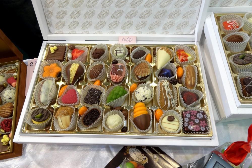 Новогодние подарочные наборы конфет