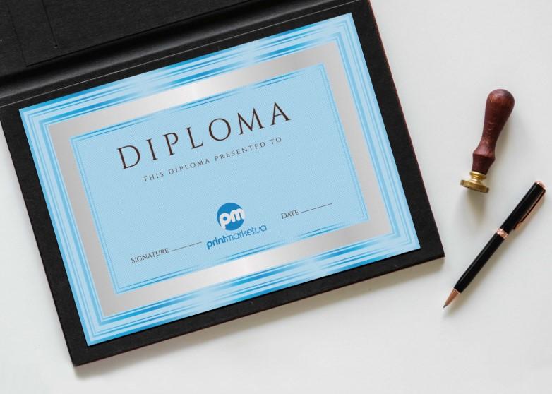 Качественная печать дипломов и грамот