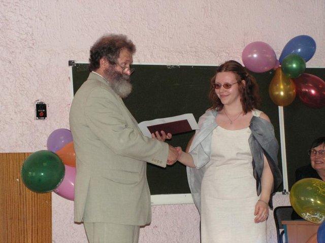 Диплом с отличием - Маше